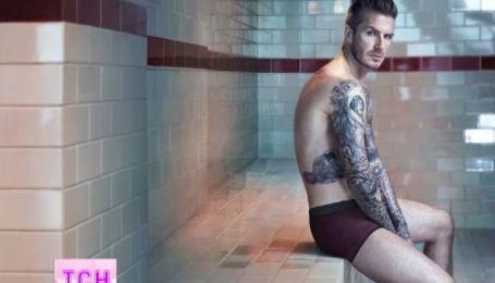 Бекхэм снялся в очередной рекламе нижнего белья