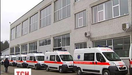 За 90 днів українці отримають нові карети швидкої допомоги