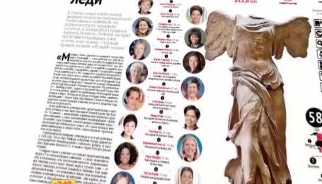 Алла Мазур стала найвпливовішою жінкою-тележурналістом