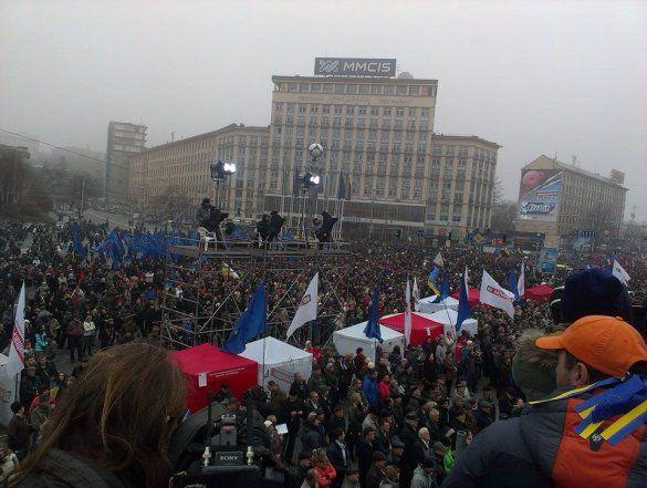 Мітинг на Євромайдані 24 листопада_3