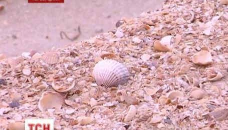 Неизвестные пытались вывести песок из Арабатской стрелки
