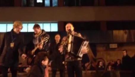 Скрипка передал привет Евромайдану из регионов