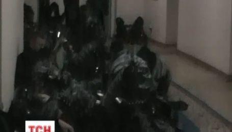 """В ТСН попали уникальные кадры, снятые """"беркутовцем"""""""