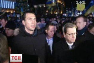 Невеста Кличко-младшего приедет на Евромайдан и обратится к людям по-украински