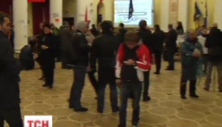 Как отреагировали митингующие на предложение Попова
