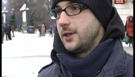 В Тернополі на знак протесту вмовкли 5 тисяч студентів