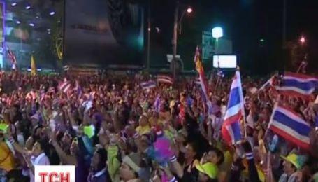 В Таиланде с новой силой возобновились антиправительственные акции протеста