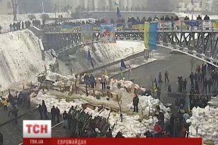 Люди готові стояти на барикадах Євромайдану аж до Різдва