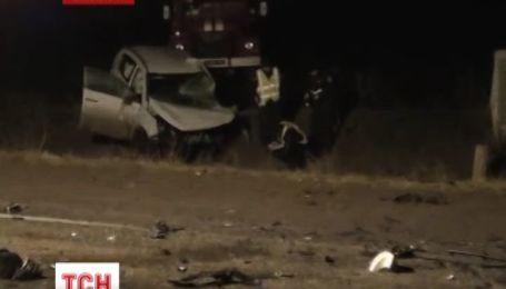 На Запоріжжі у ДТП загинуло 5 людей, 2 у тяжкому стані