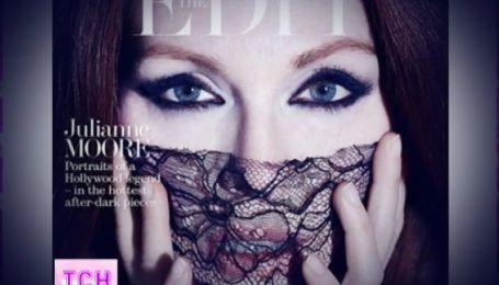 Джуліана Мур взяла участь у фотосесії для американського модного журналу
