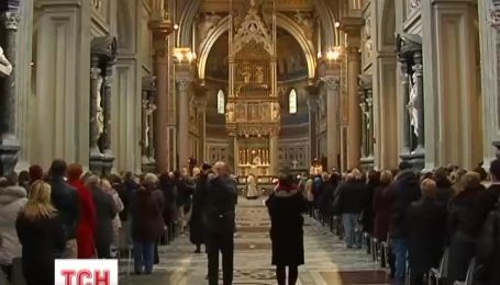В Рим на Рождественскую молитву со всей Италии съехались украинские заробитчане