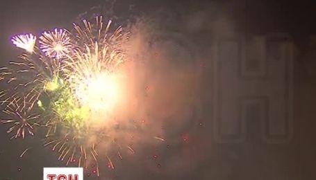 Барвистим феєрверком зустріли Новий рік у Берліні
