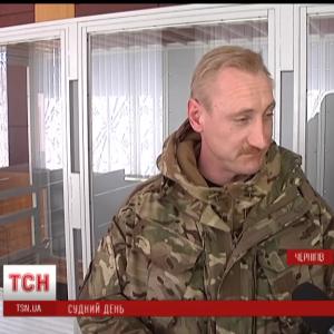 """Заступник комбата """"Чернігова"""" вперше розповів в суді про замах на його життя"""
