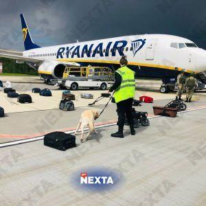 Сообщение о минировании самолета Ryanair отправили после его разворота в сторону Минска — интернет-провайдер Proton