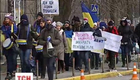 У Києві затримали 26 підозрюваних у заворушеннях, серед них є студенти