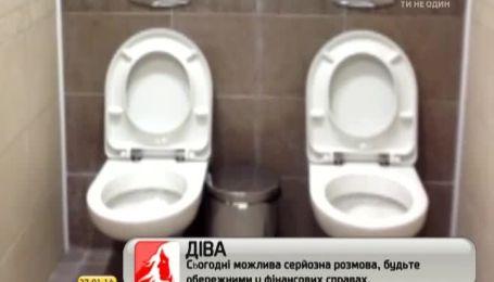 В одной из олимпийских зданий в Сочи установили двухместный туалет