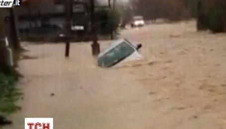 Дожди вызвали наводнения в нескольких районах Италии