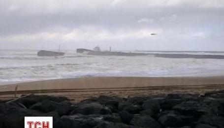 Біля узбережжя Франції зазнало аварії іспанське вантажне судно