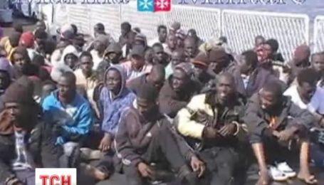 В Средиземном море спасли больше тысячи мигрантов из Северной Африки