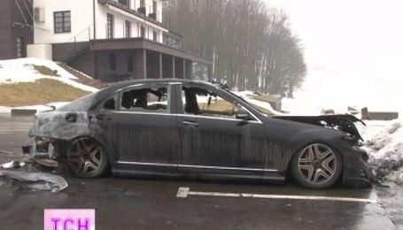 Екс-зятю Ющенка спалили машину