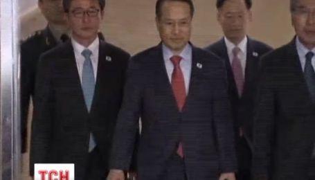 Північна та Південна Корея сіли за стіл переговорів