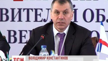 Крымская Рада хочет двухпалатную Верховную Раду