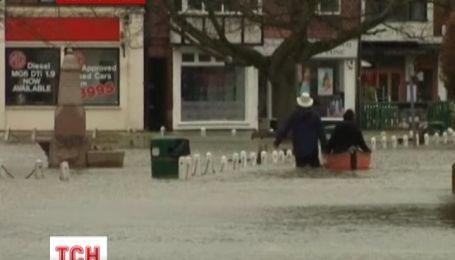 Великобритания погружается под воду