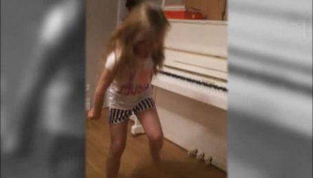 Дочь Ольги Фреймут любит исполнять рэп