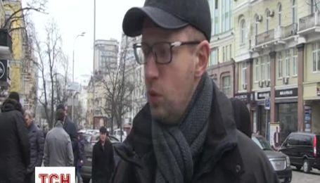 Яценюк запевнив, що опозиція переможе і мирним шляхом