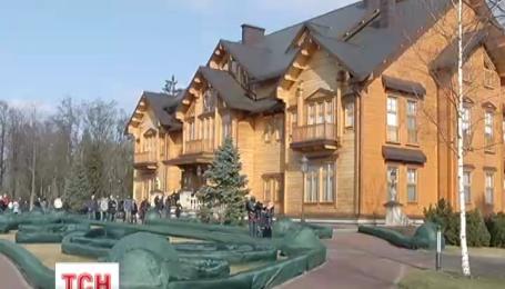 Резиденция президента в Межигорье превратилась в свалку