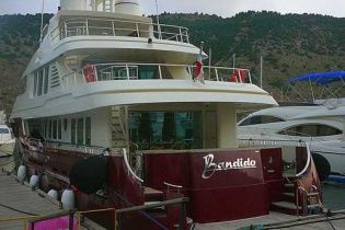 """Янукович может сбежать из Украины на своей роскошной яхте """"Bandido"""""""