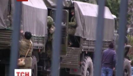 Вооруженные российские военные вторглись в Ялту