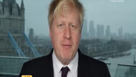 Мер Лондона Борис Джонсон заговорив російською
