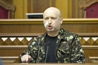 Турчинов: передвижение российских военных в Крыму расценят, как военную агрессию