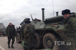 В Феодосии украинские пехотинцы задержали вооруженного российского военного