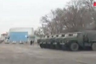 В Запорожской области идет колонна российских войск - СМИ