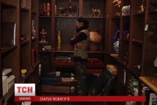 У Межигір'ї випадково знайшли три кімнати з цінностями Януковича