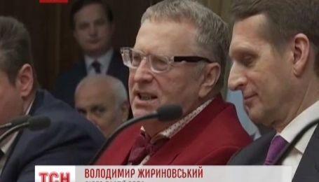 Крымские сепаратисты зашли в российскую Госдуму под аплодисменты