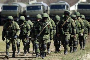 Штурм в Симферополе: убит прапорщик, ранен офицер
