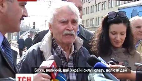 """В Тернополь приехал 88-летний """"бандеровец"""" из Крыма"""