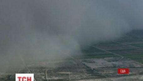 Американский штат Аризона поразила мощная пылевая буря