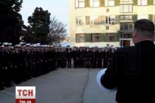 Автобусы с курсантами из Севастополя несколько часов продержали на КПП в Армянске