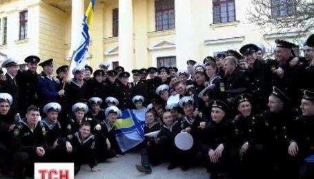 Украинские курсанты попрощались с академией в Севастополе