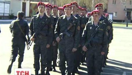 В Национальной гвардии приносили первые присяги