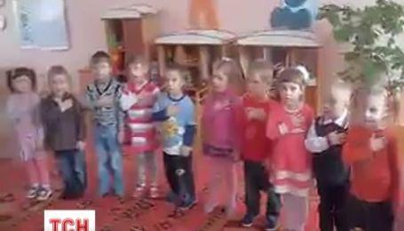 Трехлетние дети спели гимн Украины