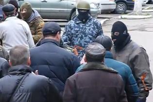 Террористы захватили мэрию и милицию Константиновки