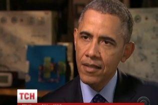 Обама напомнил Кремлю, что армия США сильнее российской