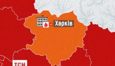 В Харькове ночью горело здание консерватории