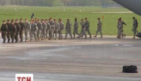 Американские десантники прибыли в Польшу на военные учения