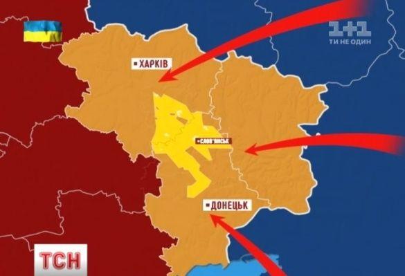 Карта покладів сланцевого газу Юзівський проект